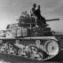 Carro M14/41 su rimorchio Viberti