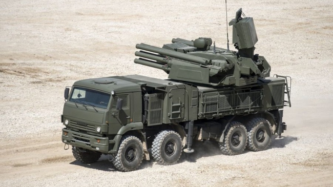 Pantsir S-1 dell'Esercito Russo