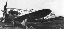 Republic P-47D Thunderbolt del 509th FS / 405th FG